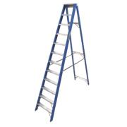 Lyte SFGSL12 Swingback Step Ladder Aluminium & Fibreglass 12-Tread 2.91m