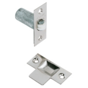 Adjustable Roller Catch Nickel-Plated 23mm Pack of 5