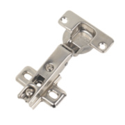 Titus Sprung Adjustable Door Hinges 110° 35mm Pack of 2