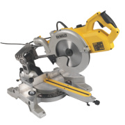 DeWalt DWS778-LX 250mm Compound Sliding Mitre Saw 110V