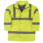 Hi-Vis Padded Jacket Yellow Medium 39