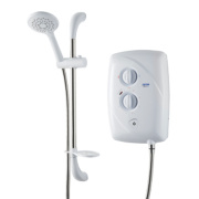 Triton T80 Easi-Fit Manual Electric Shower White 8.5kW