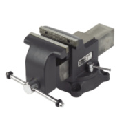 Forge Steel Workshop Vice with Swivel Base 6