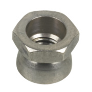 Security Shear Nuts A2 Stainless Steel M12 Pack of 10
