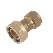 Straight Tap Connector 15mm x ¾