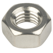 Hex Nuts A4 Stainless Steel M8 Pack of 100