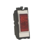 Varilight Z2DGNRW Neon Indicator Red