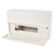MK Sentry 16-Module 14-Way Consumer Unit with 100A DP Main Switch