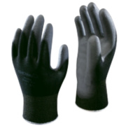 Showa Best B0500 PU Palm Fit Gloves Black Large