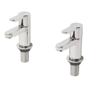 Swirl Elevate Bath Taps Pair