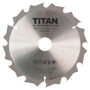 Titan TCT Circular Saw Blade 12T 190 x 16/20/30mm