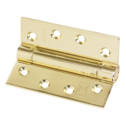 Eclipse Adjustable Self-Closing Hinge Electro Brass 76 x 102mm