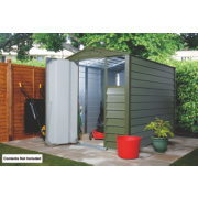 Trimetals Titan 680 Apex Shed Metal 1860mm x 2470mm x 2140mm