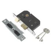 Century 5-Lever Mortice Sashlock Chrome Plated 3