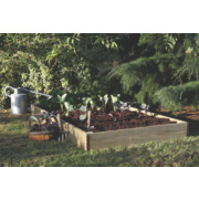 Forest Raised Bed Natural 0.9 x 0.9 x .14m