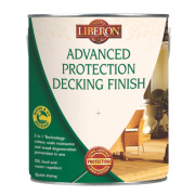 Liberon Water Based Advanced Protection Decking Finish Medium Oak 5Ltr
