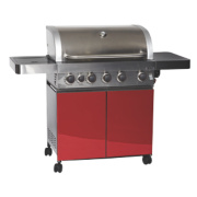 Grillstream Gourmet 5-Burner Gas Barbecue with Side Burner
