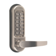 Securefast Heavy Duty Mechanical Push Button Lock with Tubular Latch