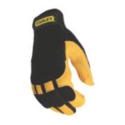 Stanley Hybrid Performance Leather Gloves Black Large