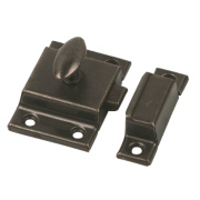 Cupboard Latch Florentine Bronze 54mm