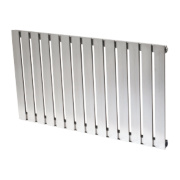 Reina Calix Horizontal Designer Radiator Stainless Steel 600x1035mm 3762BTU
