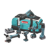 Makita DLX6021M 18V 4.0Ah Li-Ion Cordless 6 Piece Kit LXT