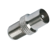 Labgear F To Coax Plugs Pack of 10