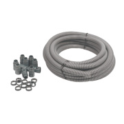 Adaptaflex General Purpose Pack & PVC Pliable Conduit 20mm Grey