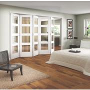 Jeld-Wen 4-Light Internal Room Divider 5-Door White 3164 x 2044mm