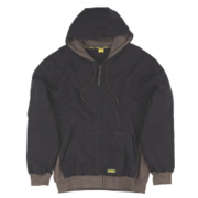 DeWalt Hooded Sweatshirt Black / Grey Large 44