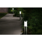 Air 2-Light Post Lights Black Pack of 2