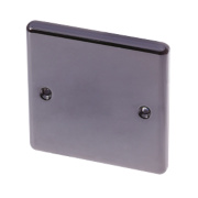 LAP 1-Gang Blank Plate Black Nickel