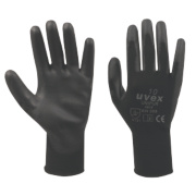 Uvex Unipur PU Palm Gloves Black Large