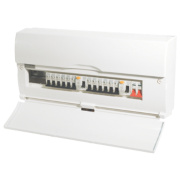 16-Way High Integrity Populated Insulated Consumer Unit Dual 63A RCD