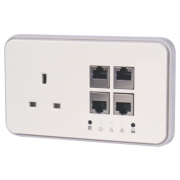 Power Ethernet Powerline Socket