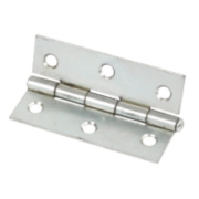 Steel Loose Pin Hinges Zinc-Plated 76 x 29mm Pack of 2