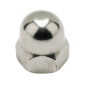 Dome Nuts A2 Stainless Steel M4 Pack of 100