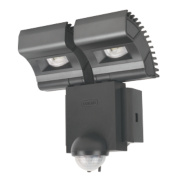 Osram Noxlite™ LED Twin Spotlight with Sensor 16W Black