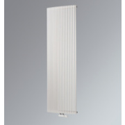 Aurora Curved Vertical Designer Radiator White 1800 x 430mm 3685BTU