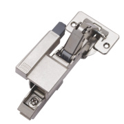 Metal Clip-On Hinges with Soft Close 180° Pack of 2