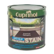 Cuprinol Ultra Tough Decking Stain American Mahogany 2.5Ltr
