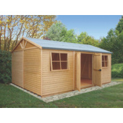 Shire Tongue & Groove Mammoth Workshop 4.5m x 3.1m x 2.7m (Nominal)