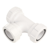 McAlpine V1M 40mm Swept Tee White