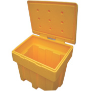 JSP Grit Salt Bin 7cu ft 250kg Yellow