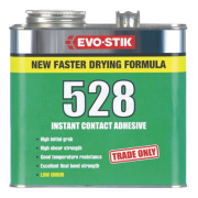 Evo-Stik 528 Industrial Contact Adhesive Transluscent Amber 2.5Ltr