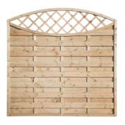Grange Fencing Elite Eyecatcher Fence Panels 1.8 x 1.8m Pack of 7