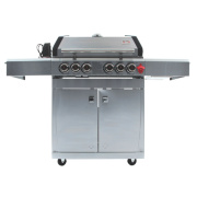 Swiss Grill A250SS Arosa 4-Burner Gas Barbecue