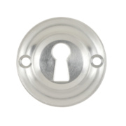 Carlisle Brass Standard Key Standard Key Escutcheon Satin Chrome 42mm