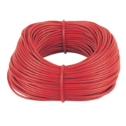 PVC Sleeving 4mm x 100m Red