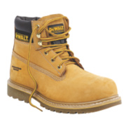 DeWalt Work Safety Boots Wheat Size 8